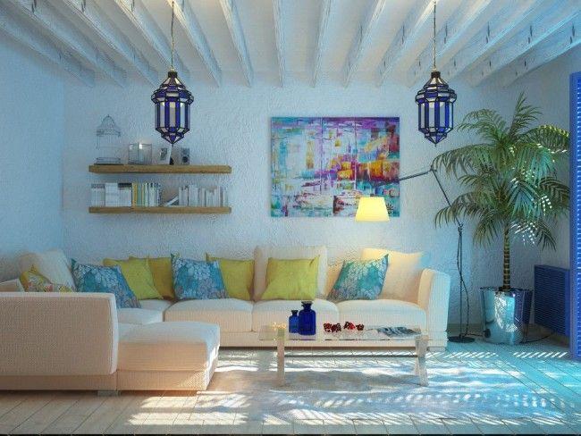 HappyModern.RU | 60 идей средиземноморского стиля в интерьере – праздник каждый день (фото) | http://happymodern.ru