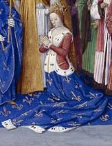 Marie of Brabant (13 May 1254 – 12 January 1321) was Queen consort of France. She was a daughter of Henry III, Duke of Brabant, and Adelaide of Burgundy. Marie married on 21 August 1274, to Philip III of France. In 1276, Philip's son and heir, Louis died, under suspicious circumstances. Marie was suspected of ordering him to be poisoned. Together with Joan I of Navarre and Blanche of Artois, she negotiated peace in 1294 between England and France.