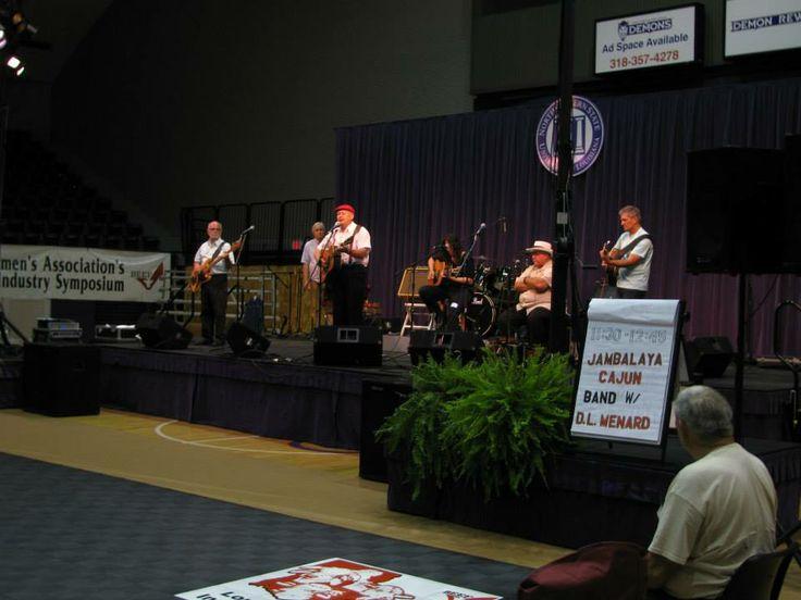 Jambalaya Cajun Band with D. L. Menard; 34th Annual Natchitoches-NSU Folk Festival; 2013