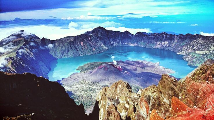 Miss this place  #Mt.Rinjani #Indonesia