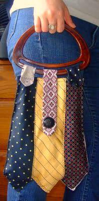 tie purse. um, awesome!!