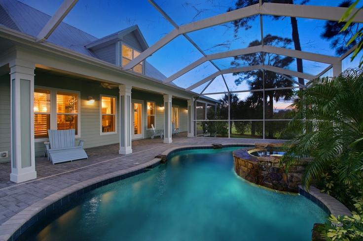 Daniel wayne homes custom home builder in fort myers Swimming pool contractors fort myers florida