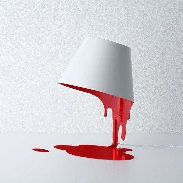 Liquid Table LampLamps Design, Table Lamps, Painting Lamps, Night Lights, Liquid Lamps, Tables Lamps, Unusual Art, Kyouei Design, Desks Accessories