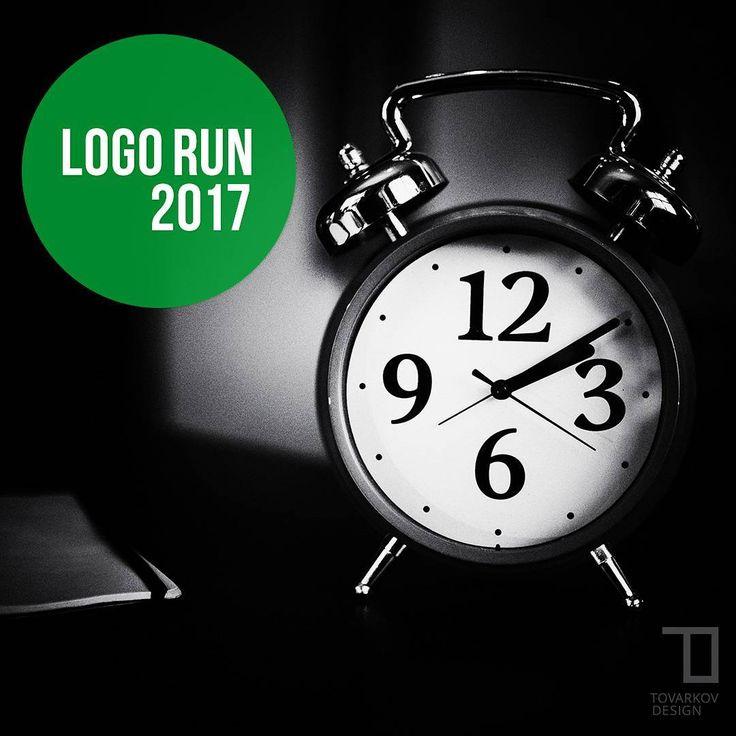 ⌚ High time to #redesign your #logo.⌛ More @ tovarkovdesign.com/blog/logo-run-2017