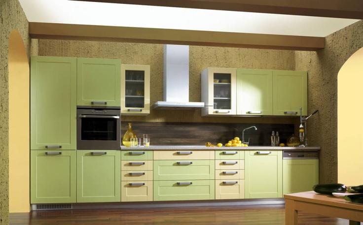 Moderní kuchyně - http://www.vybersito.cz/zbozi/22034/kuchyne-sestavy/kuchyne-bon-appetit-sorano-zeleno-kremova/