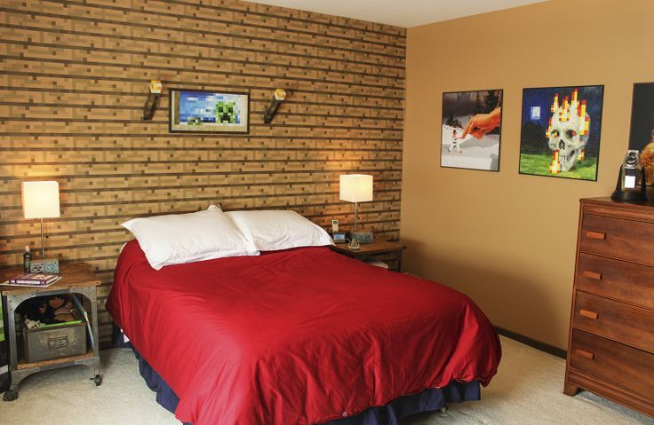 minecraft bedroom real life - Google Search