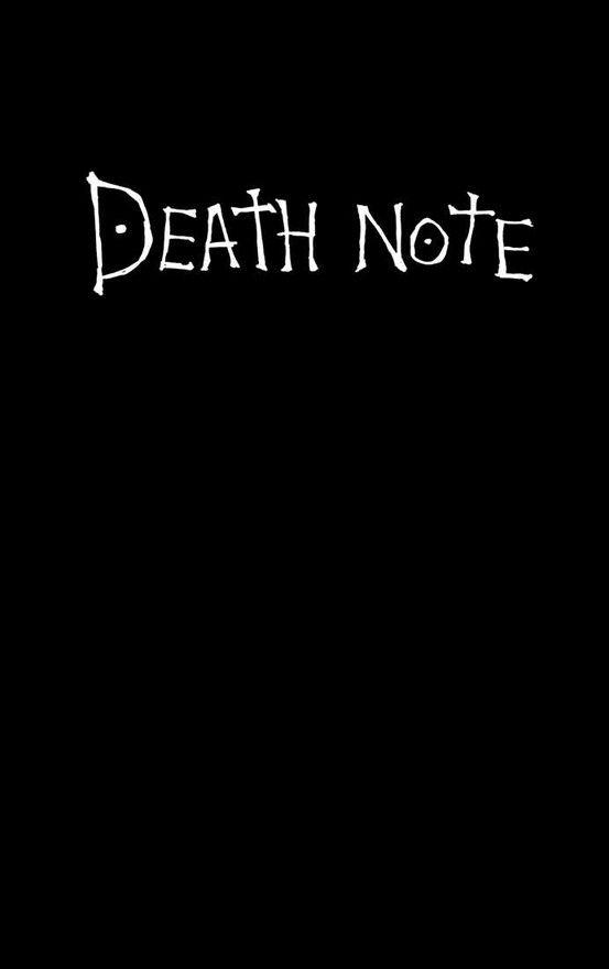 Death Note Quisiera forrar haci  mis libretas