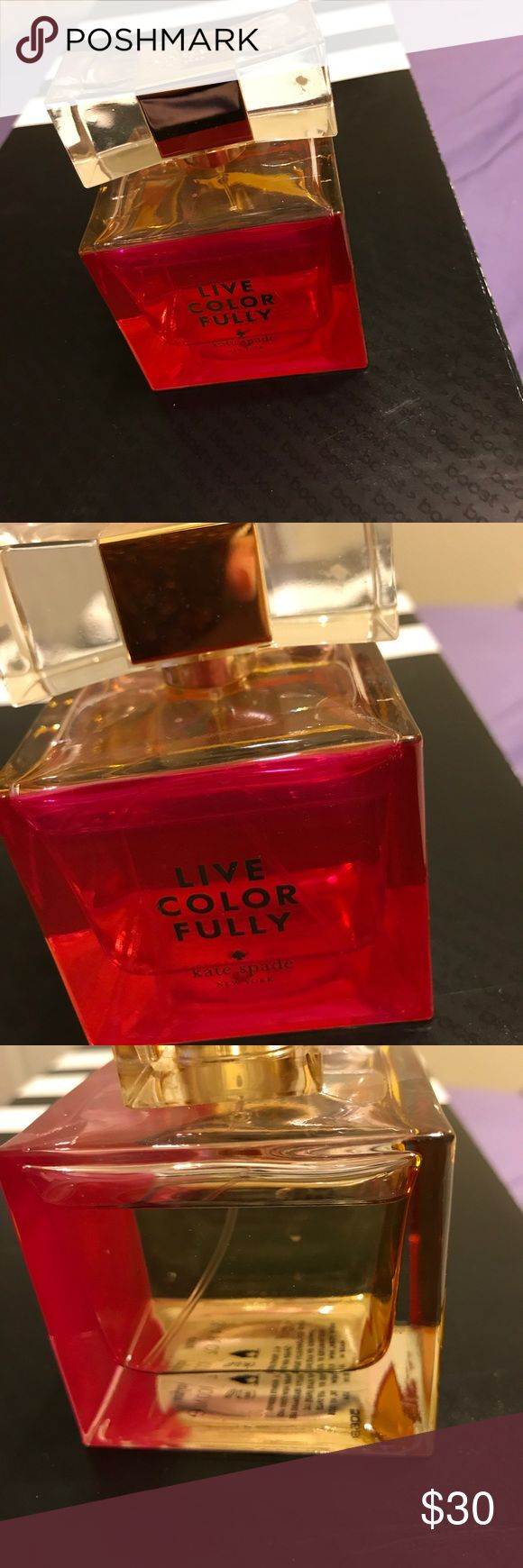 Live Color Fully Kate Spade perfume Kate spade perfume---Live Color Fully kate spade Other