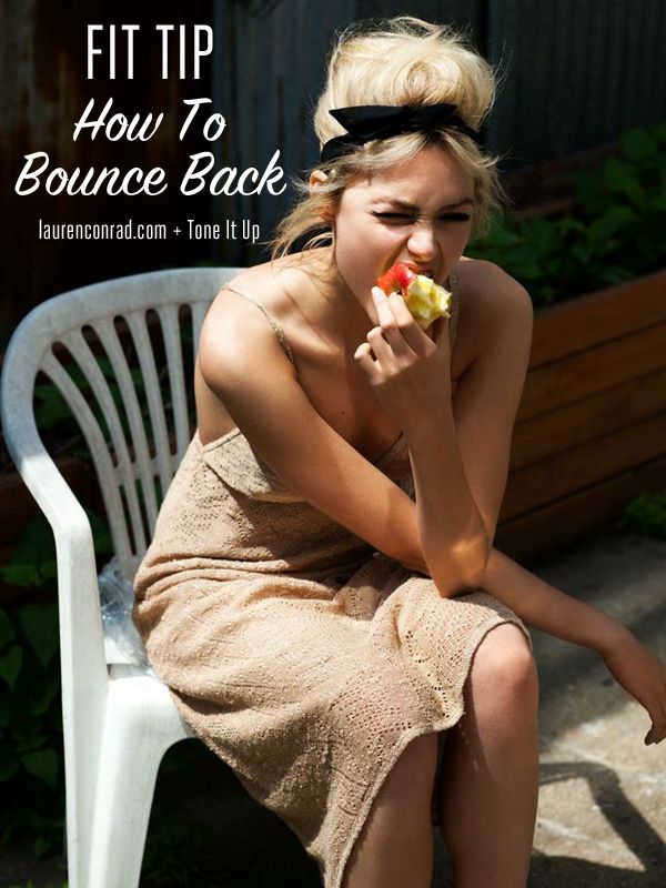 How to Bounce Back During the Holidays
