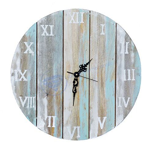 Charming Ideas Large Rustic Clock. Antique Weathered Vintage Wall Clock  Hand Crafted Decor Nagina International by The 25 best wall clocks ideas on Pinterest Large