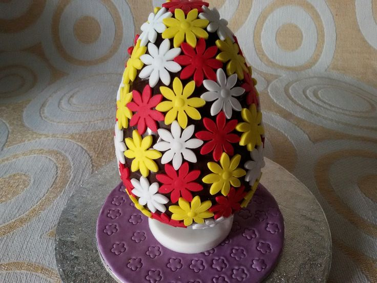 Chocolate Easter egg...flowers 2!!!