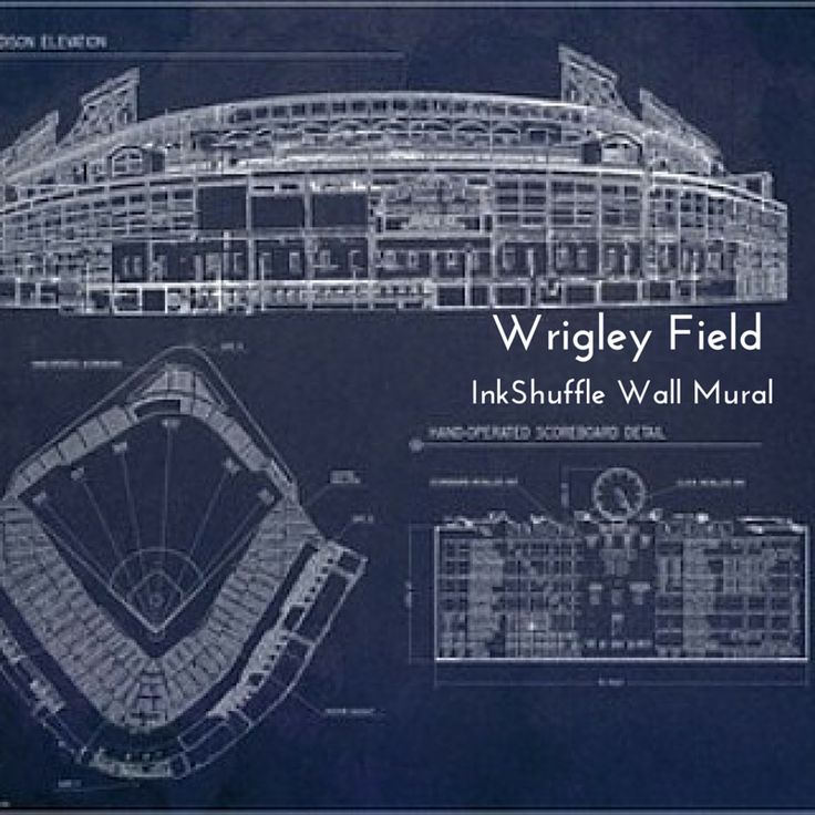 181 beste afbeeldingen over home wall murals op pinterest for Baseball field wall mural
