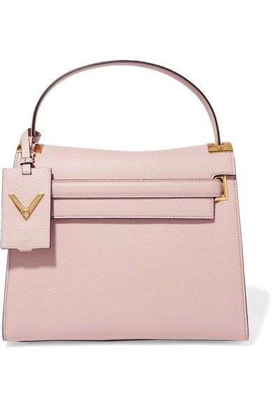 Valentino - My Rockstud Large Leather Tote - Blush - one size