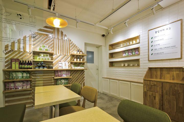 Café BBong Cha by Friend's Design, Seoul   Korea cafe