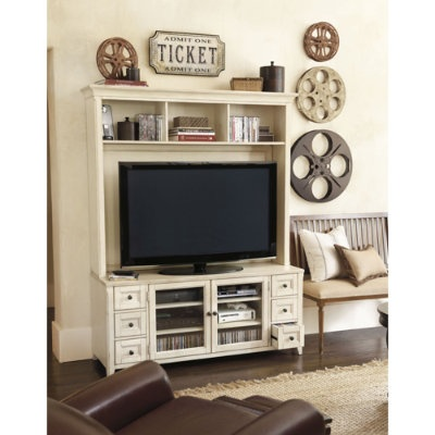 Wesley Media console & hutch....for day room