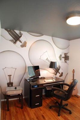Home Office   Murals Your Way