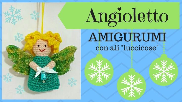 Amigurumi Angioletto Uncinetto : 1000+ images about Fiori , Angeli ,Damine ,Foglie ...