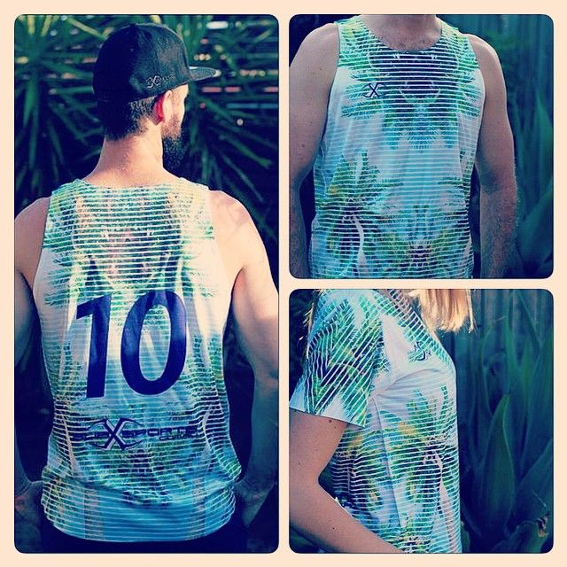 Who else wants summer to come back? Your image/design printed on a singlet or tee from $30 each. @subxsports #subxsports #singlet #tee #tshirt #prints #teamwear #fashion #events #partyshirts #summer #winter #touchfootball #touchshirts