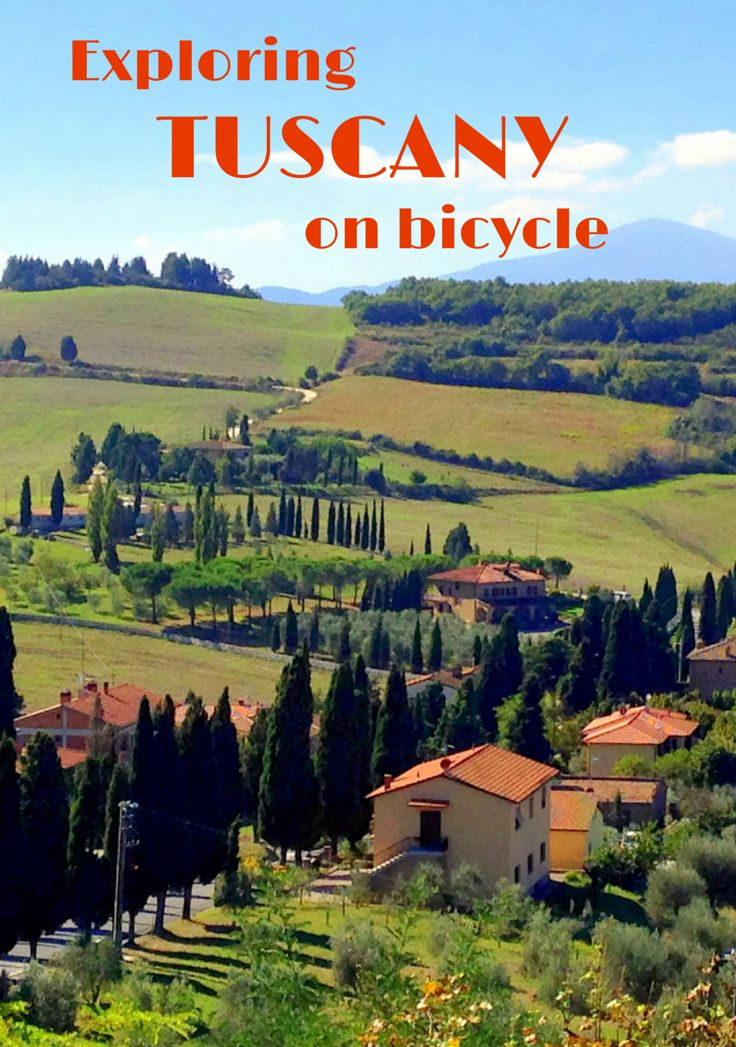 Cycling in Tuscany Italy - A dream trip of Cyprus trees, wineries and hill top towns.
