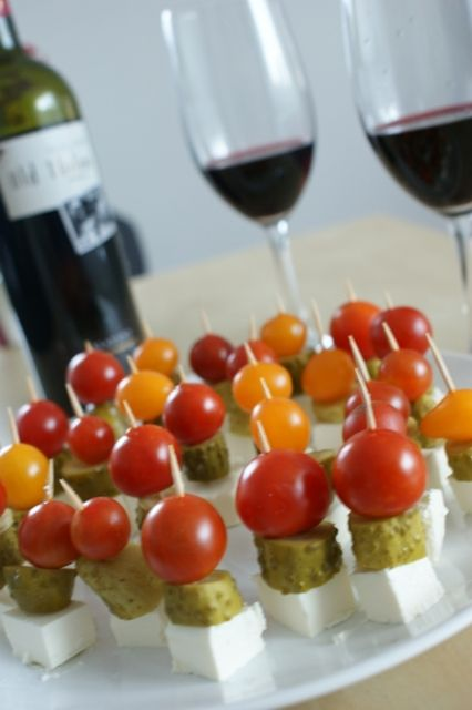 Wine, tomatoes and something more