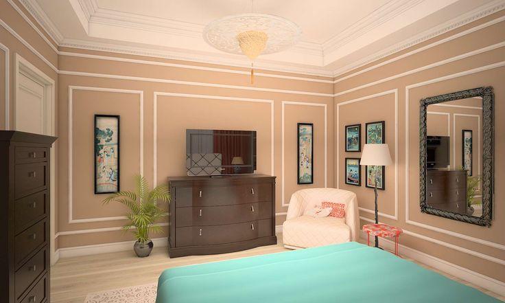 #design_interior #proiect_design_interior #3D_amenajare_interioara #proiect_3D #amenajare_apartament #amenajare_dormitor #design_dormitor_oaspeti