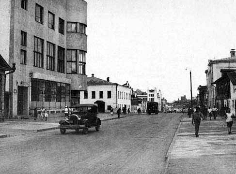 Старые фото улиц Иваново