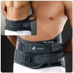 """M-SPINE LumboSacral Orthosis - Low Profile, Small 24""""-31 1/2"""" by Rolyn Prest. $500.05. This is only for M-Brace 584 M-SPINE Low Profile Small. The moldable panels are to be applied post-op without delay, and kept in place throughout the rehabilitation phase. Indications: supports from sacrum to T-9 level.. Supports the patient at all stages of recovery.. Manufacturer Part Number: 56068601. M-SPINE LumboSacral Orthosis - Low Profile, Small 24""""-31 1/2"""". M-SPINE Lumb..."""