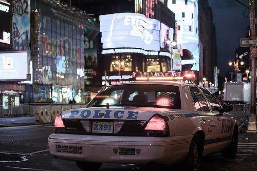 Times Square cops