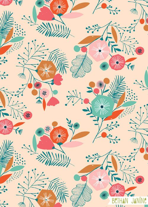 1000+ ideas about Floral Patterns on Pinterest | Wood Print, Islamic ...