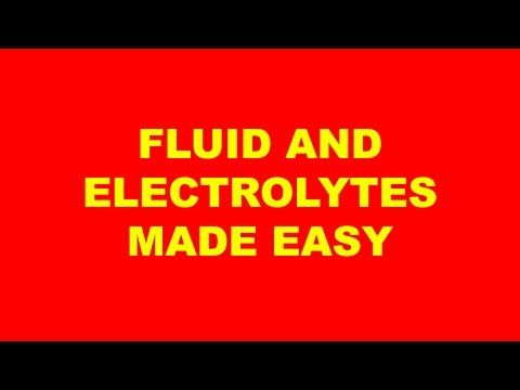 fluid and electrolytes made easy study Free flashcards to help memorize facts about fluid and electrolytes other activities to help include hangman, crossword, word scramble, games, matching, quizes, and tests.