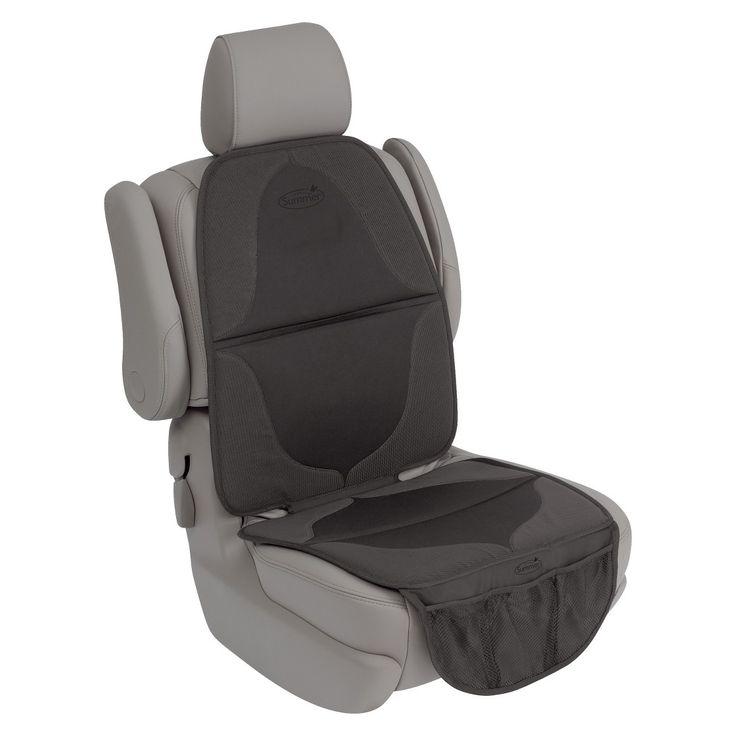 Summer Infant Elite DuoMat 2-in-1 Seat Protector - Black