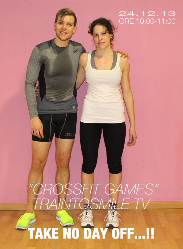 TAKE NO DAY OFF...!!! CROSSFIT IS THE WAY. www.traintosmile.com