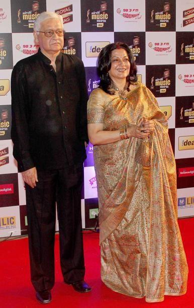 Moushumi Chatterjee at Mirchi Music Awards