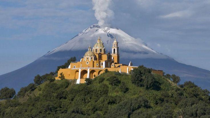 Volcanoes Popocatepetl and Iztaccihuatl, Mexico