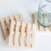 Come creare sottobicchieri in pallet di legno