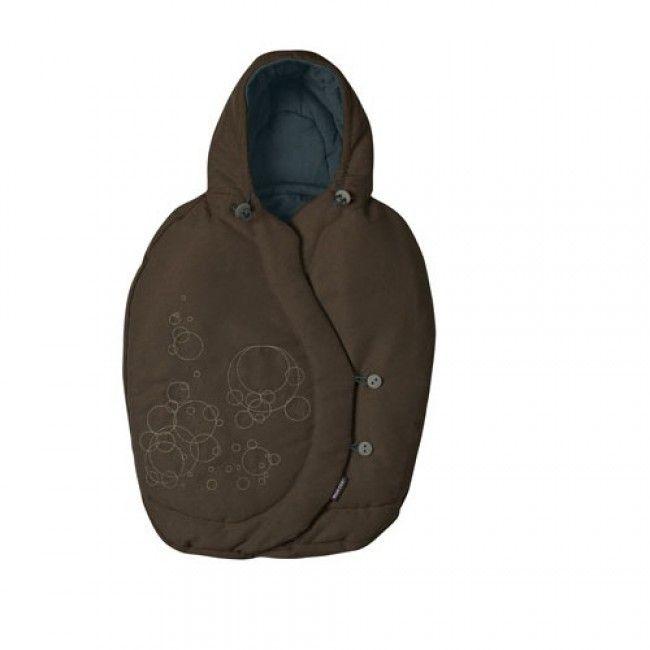 Maxi-Cosi Pebble Footmuff, Brown Earth fra Gobaby. Om denne nettbutikken: http://nettbutikknytt.no/gobaby/