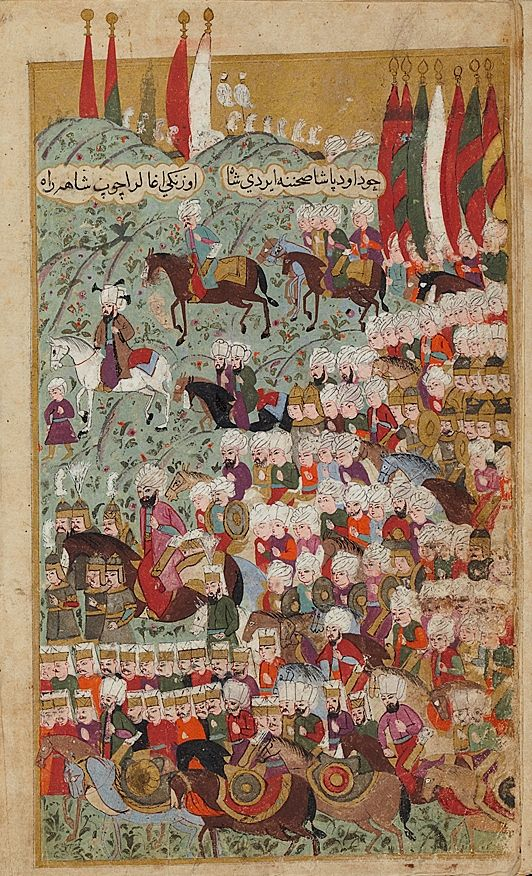 Seyyid Lokman - Mehmed III Arrives at the Head of the Victorious Army at Davud pasha, a Suburb of Istanbul