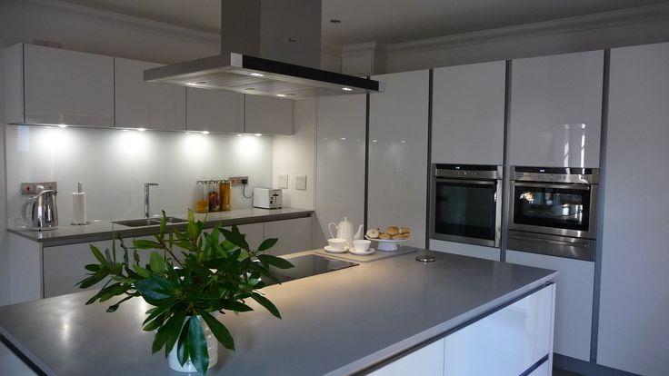 C \ C Kitchens, Enfield Kitchen design - Neff single oven - nolte küchen planer