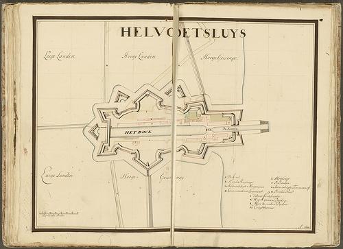 Hellevoetsluis (1698), Collectie Hingman/Nationaal archief, via Ad Zee