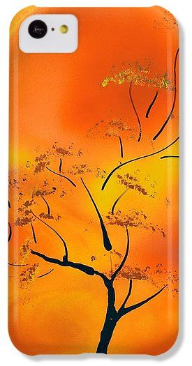 Hot Joy IPhone 5c Case Printed with Fine Art spray painting image Hot Joy by Nandor Molnar (When you visit the Shop, change the orientation, background color and image size as you wish)