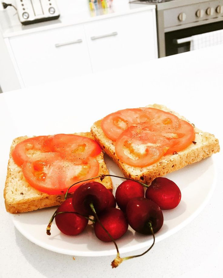 Good old Tommy tomato on toast with a bit of Xmas cherry  3 Months From Now You Will Thank Yourself! . . . #food #body #nutrition #fuel #energy #fit #protein #softcarbs #hardcarbs #health #yummy #yum #instafood #foodstagram #foodporn #healthyfood #healthyeating #healthyfoodshare #community #weightloss #goals #noexcuses #absonfitness #absoneating #instahealth #perthfitness #perthlife #foodie #summer