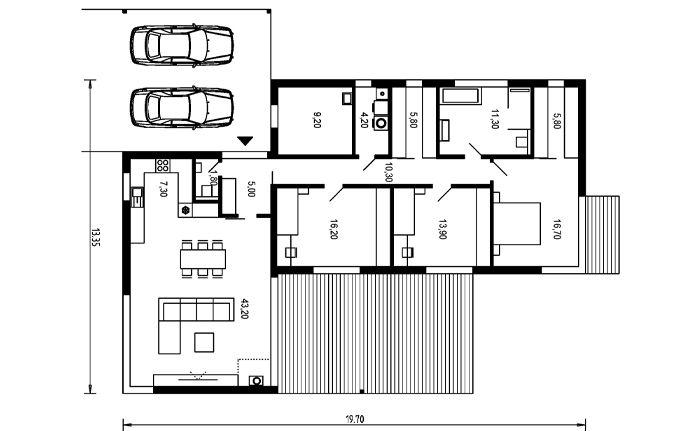 Návrhy rodinných domů BúryAPEX ARCH s.r.o.