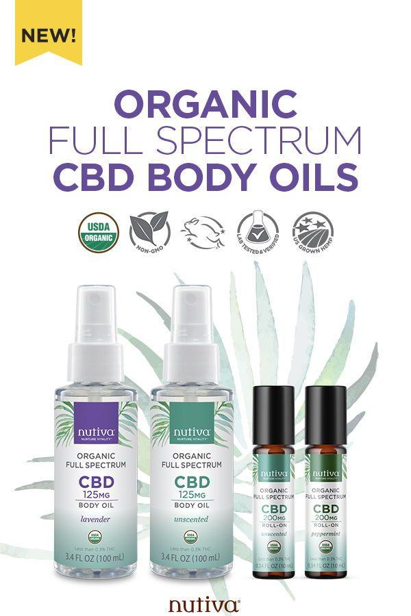 CBD body oils