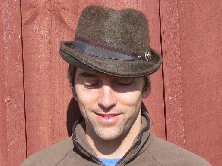wool fendora hat for men