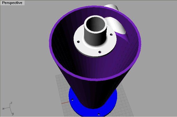 Mini Cyclone Pour Aspiration De Copeaux L Atelier De Zep Bricolage Facile Aspirateur Aspirateur D Atelier