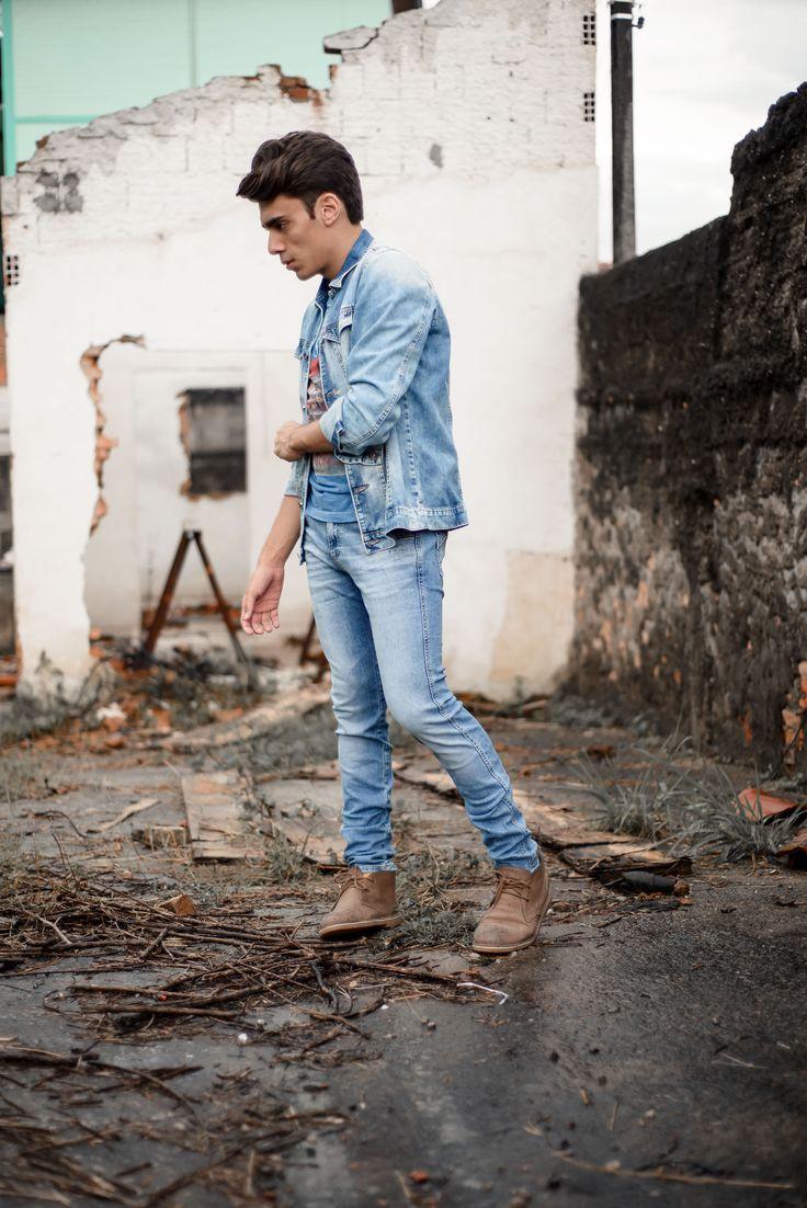 alex cursino, blogueiro de moda, blog de moda masculina, digital influencer, canal de moda, jaqueta jeans, calça jeans, damyller, mens, menswear, style, (8)