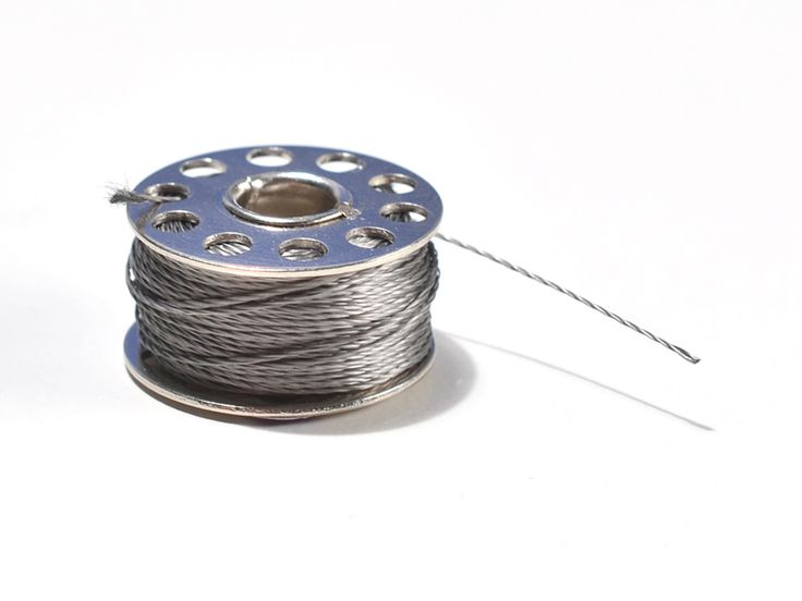 Stainless medium conductive thread, 3 ply, 18 meters (need 2)