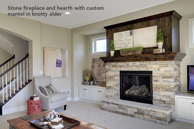 Pin by tracie swearingen on fireplace pinterest for Fireplace half stone