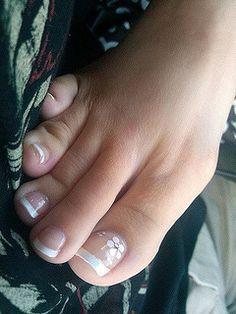Diseño de uñas para pies - Toe nails design