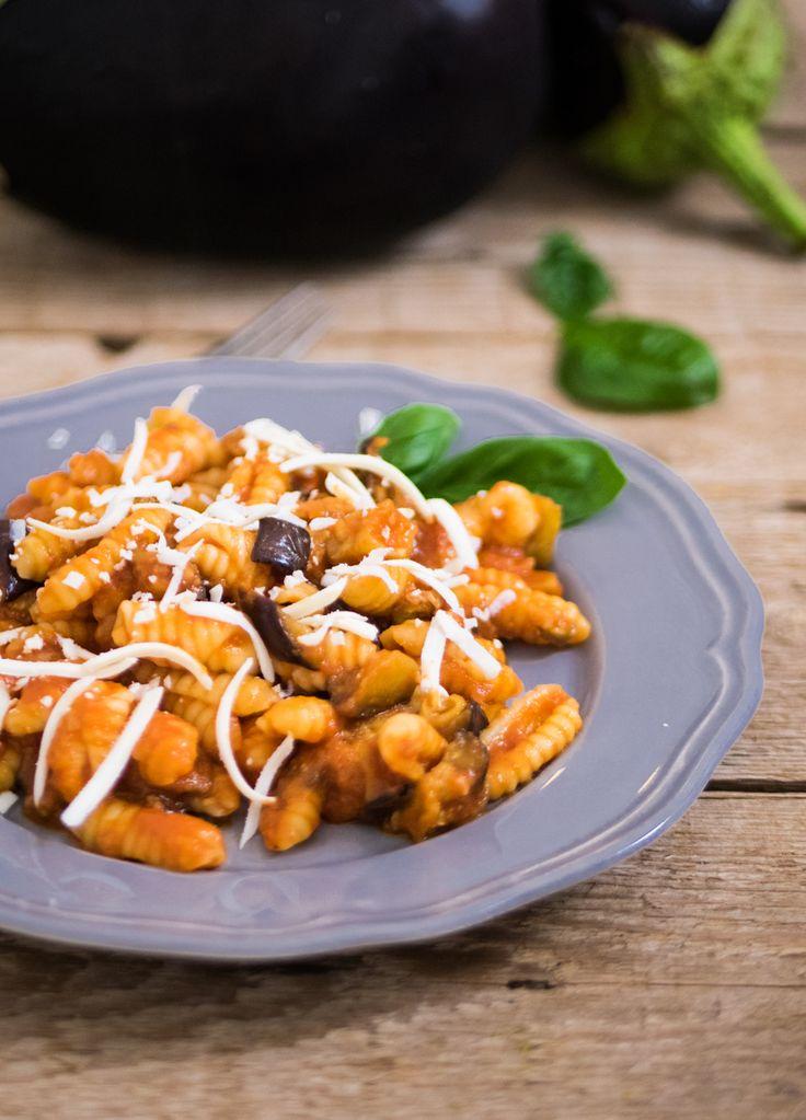 Cavati alla norma – ricetta siciliana
